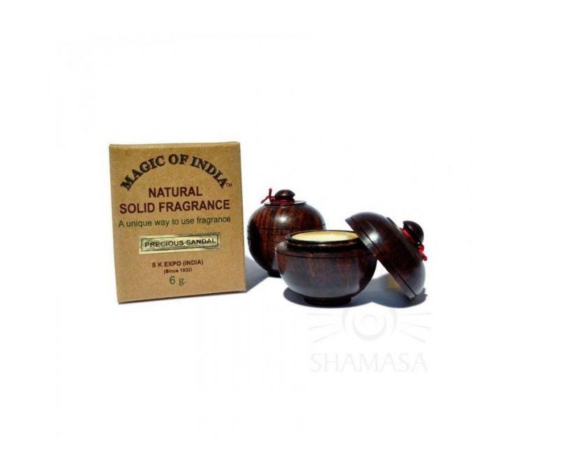 SHAMASA Naturalne perfumy w kremie PRECIOUS SANDAL trwały zapach 6g